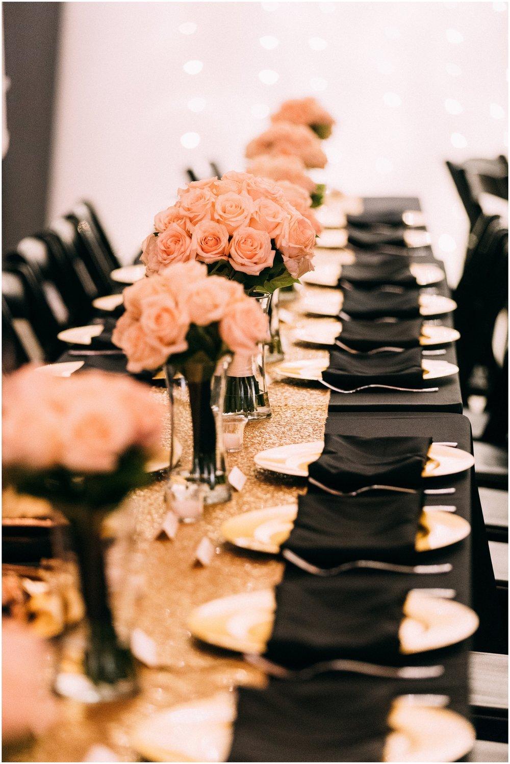 Denver wedding reception
