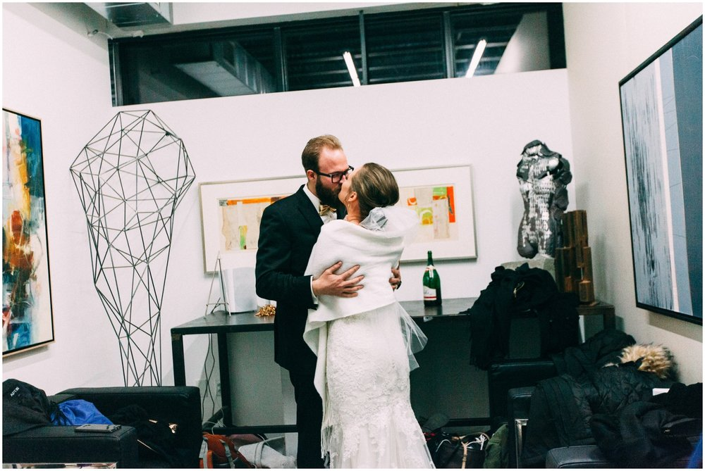 The Space Gallery Wedding
