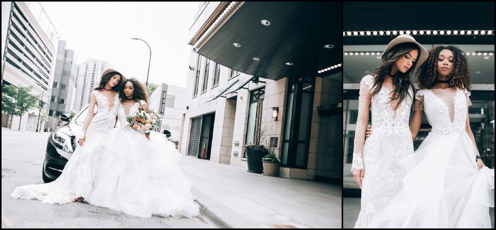 wedding bride looks