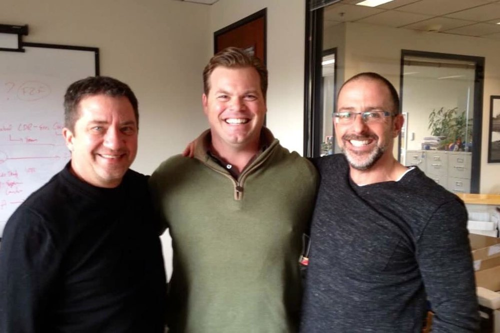 - Best selling authors henry cloud and daniel Harkavy with Phil -