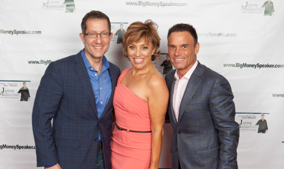 With Forbes Riley, Infomercial Host and Kevin Harrington of Shark Tank