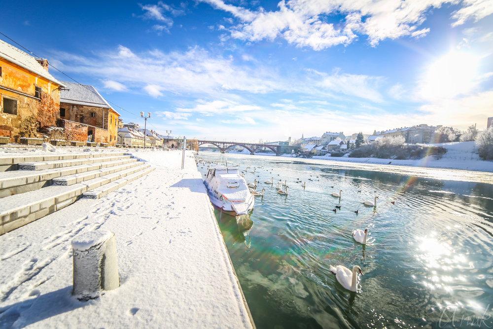 Foto: Igor Unuk - Winter on Drava river