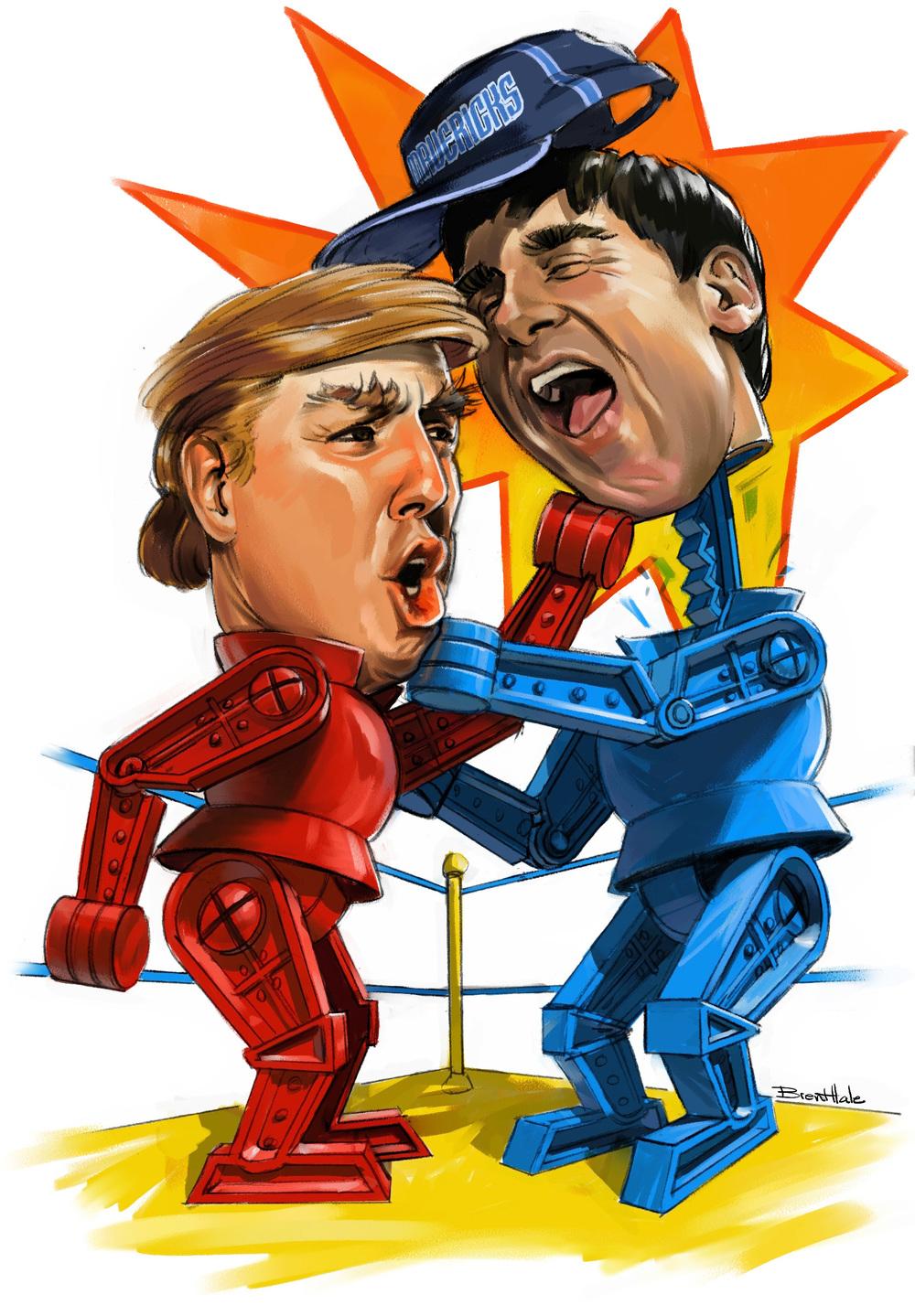 D Magazine - Trump vs Cuban