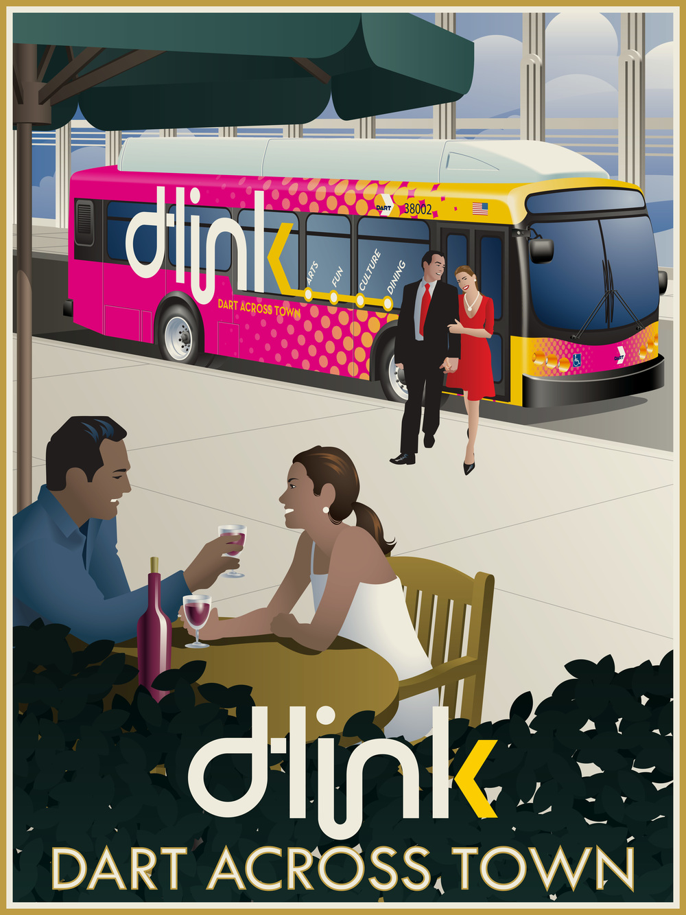 D-Link Bus Line - Dallas