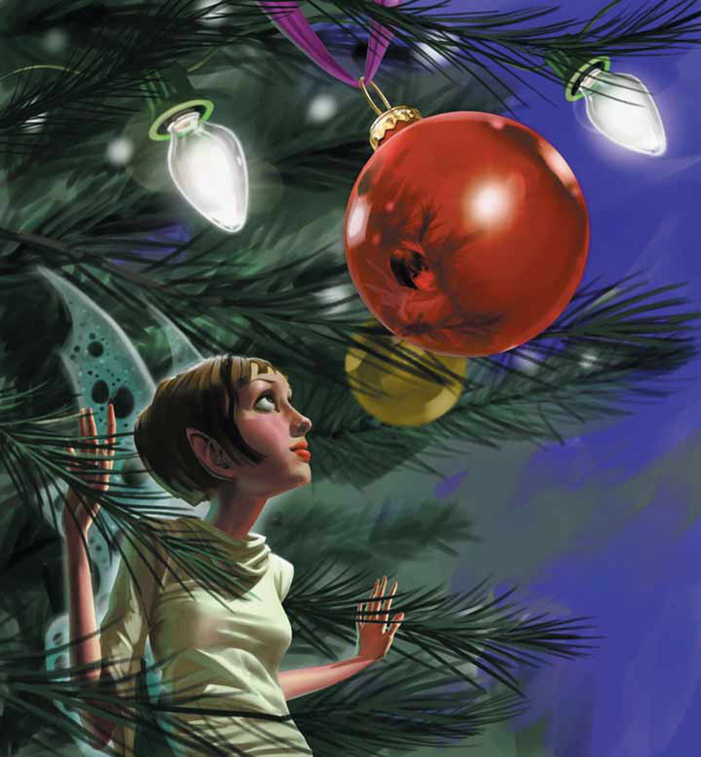 Dallas Society Of Visual Communicators - Christmas Rough Magazine