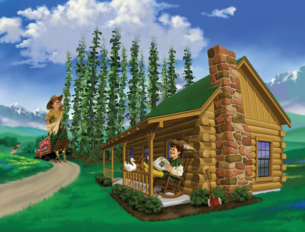 Satterwhite Log Homes - Fairy Tale Series