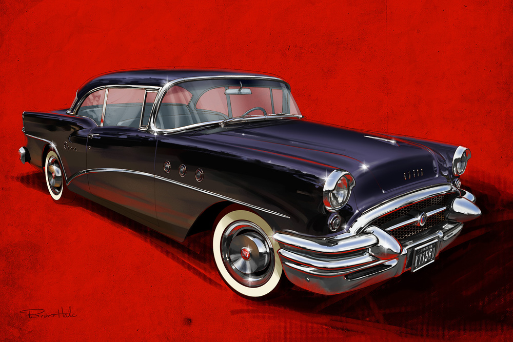 Dad's '55 Buick Special - Self Promo