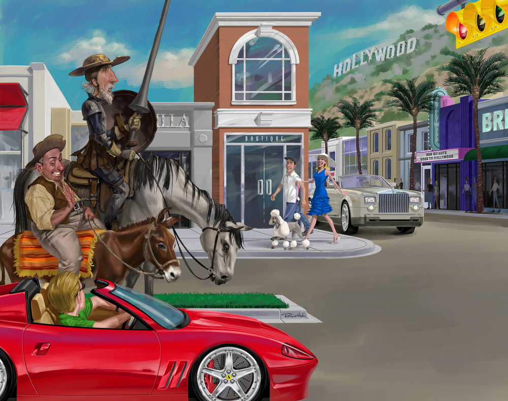 Weekly Reader - Don Quixote In Hollywood