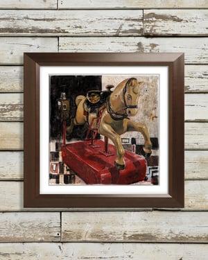 Coin Op Horse - Giclée Art Print