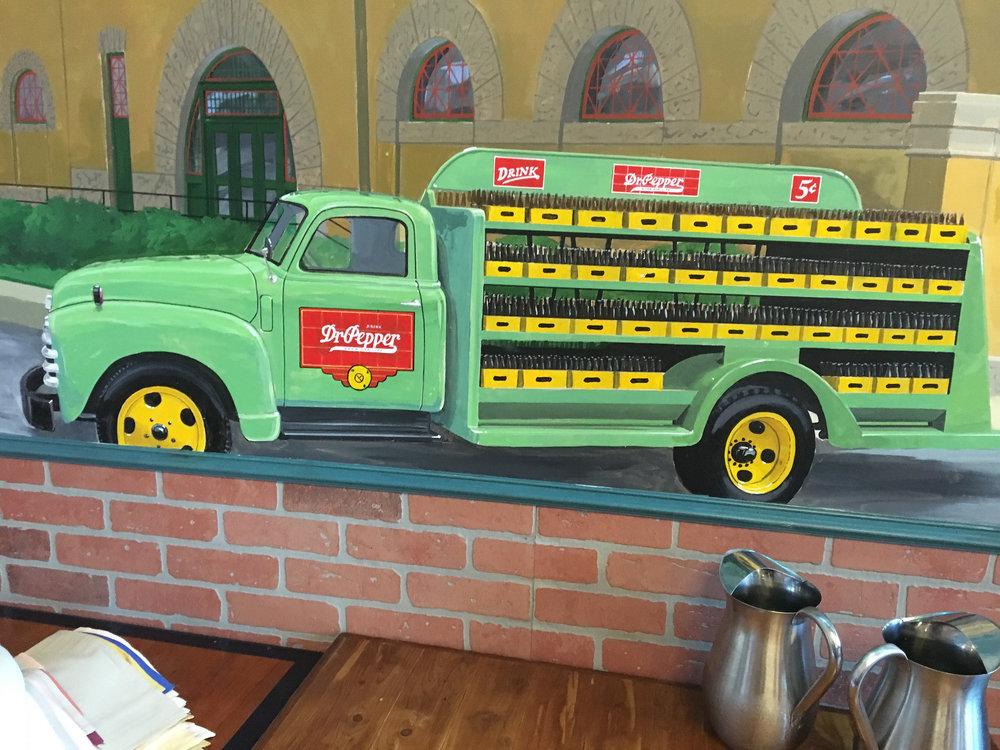 Nina's Restaurant Waco, TX - Dr Pepper Museum Detail