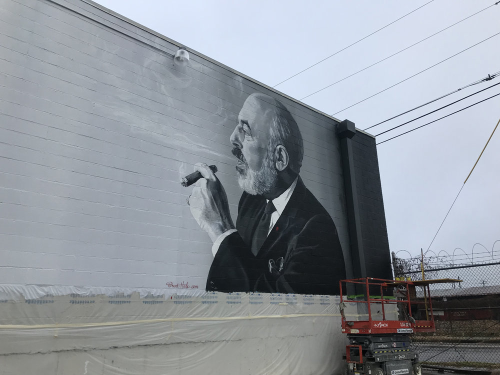 Stanley Marcus Mural