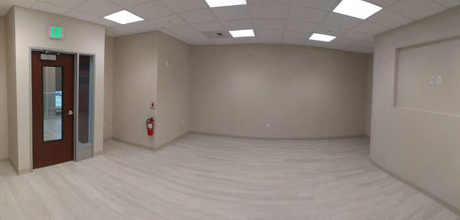 medical building painting of fit out and new construction