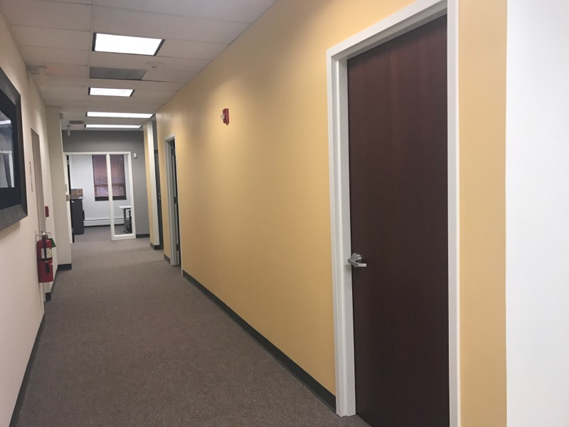 accent wall office painting company