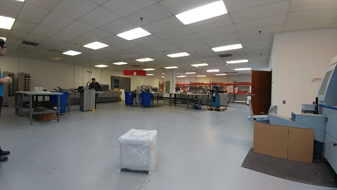 commercial facility two-part epoxy floor coating