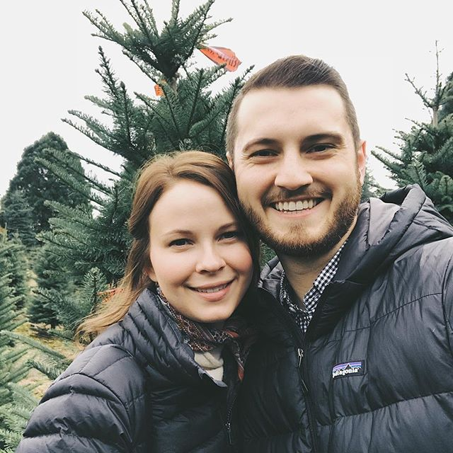 So fun creating traditions together. Today we started one and went to a Christmas tree farm near us to tag our tree before the holidays truly begin. Now I think that'll be our 'thing' we do each year. We are two Christmas fanatics and I wouldn't have it any other way 🌲