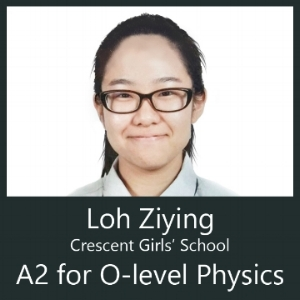 Crescent Girls' school student scores Distinction A2 for Physics after attending Calvin Kong Physics Tuition Clementi
