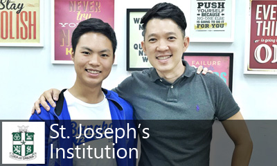 Calvin Kong Physics Tuition - St. Joseph's Institution SJI