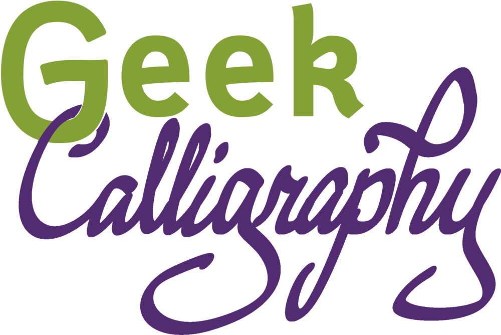 Geek Calligraphy logo