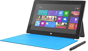 Surface Pro 2, image courtesy of TechSpot. It's ... okay ... I guess.