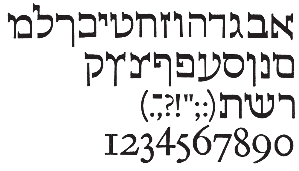 Gill Hebrew. Note the serifs. Now go bleach your brain.