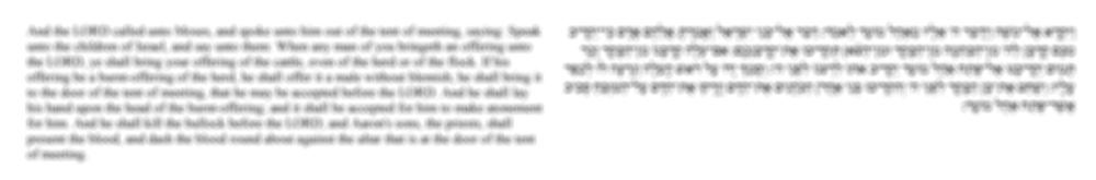 First 5 verses of Leviticus blurred.png