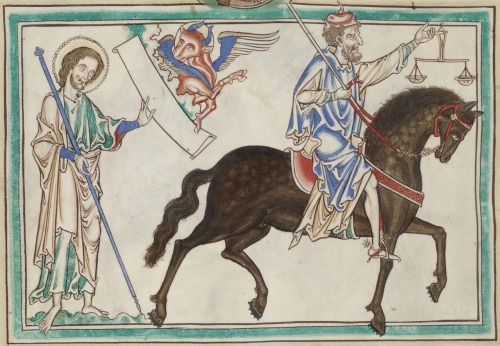 Apocalypse glosée, c. 1240-1250 CE,BnF Français 403 fol. 8v
