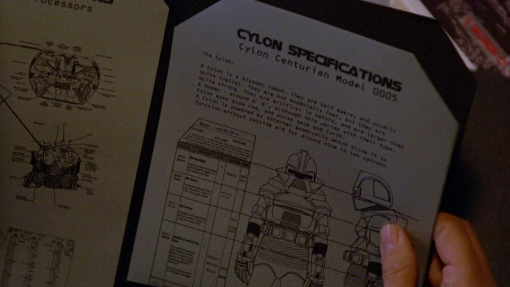 All papers in Battlestar Galactica are octagonal