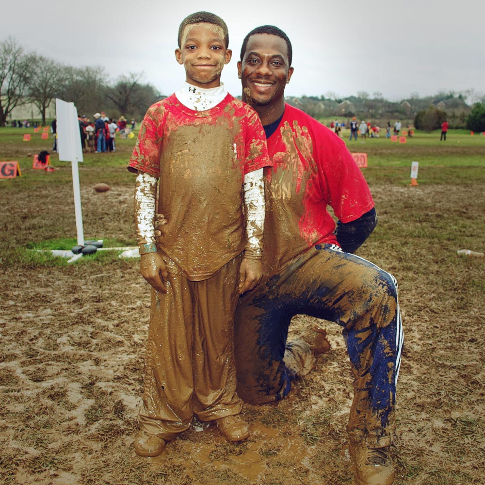 Father & Son Bowl 2012. Good times!