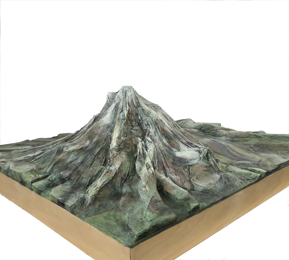 Mt Hood commission, north view