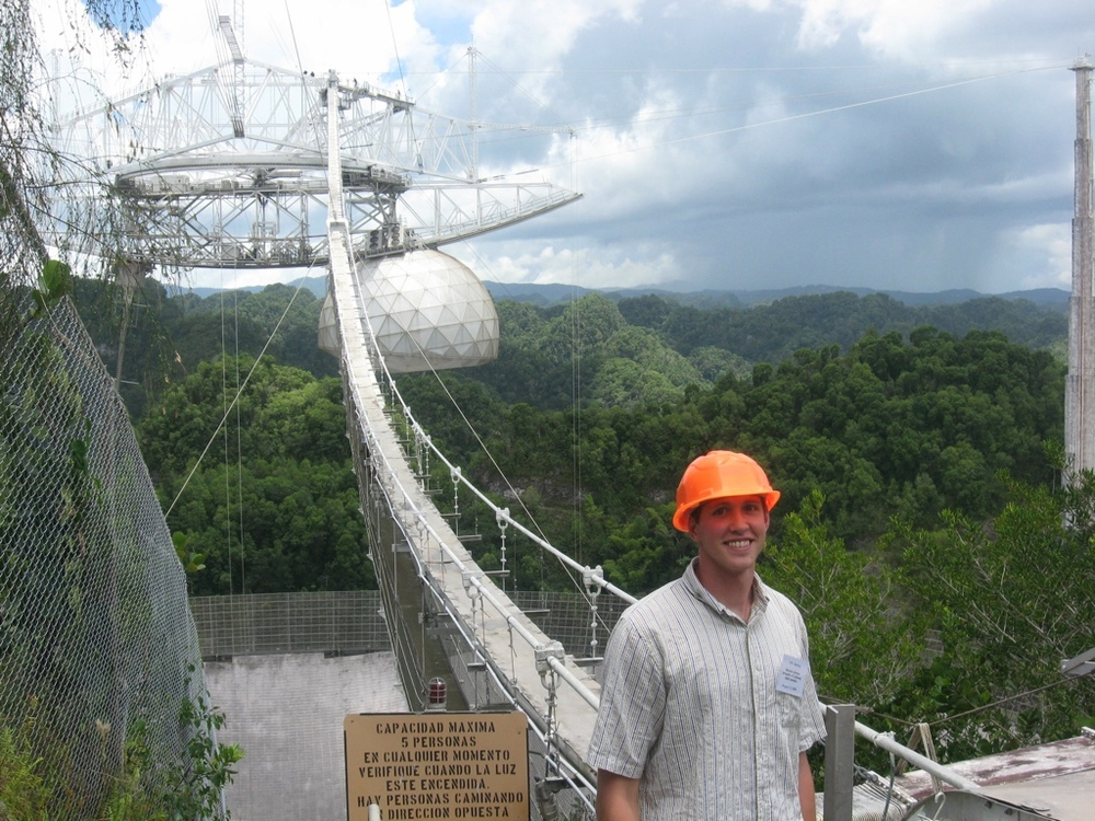 Observing at Arecibo