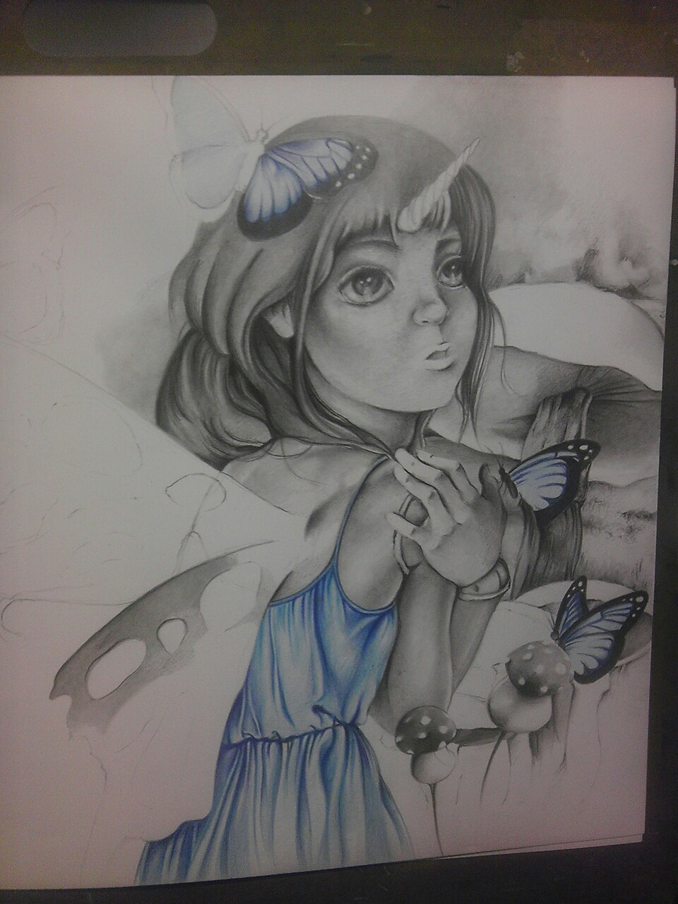 More progress on my drawing :)