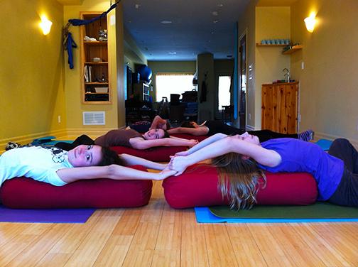 Teen Partner Yoga