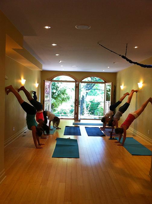 Strengthening exercise during Yoga
