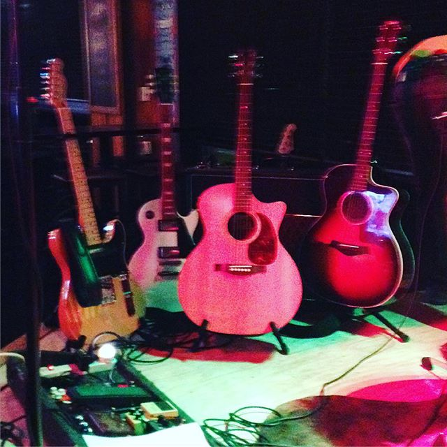 The guitars of @towncriermusic and @youthmodel