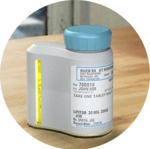 AdhereTech Wireless Pill Bottle