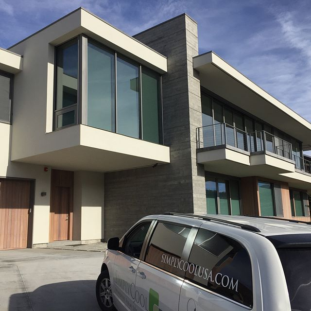 This beautiful home got one of the very best window film.  Suntek Ultra Vision.  Its a lighter film with low reflection that blocks up to 60% of the sun's energy and heat.  It blocks 99% of the damaging UV rays and up to 85% of the Infrared.  This will dramatically reduce sun damage and fading in the house as well as help with cooling costs. . #simplycoolusa #simplycool #suntek #utah #parkcity #parkcityutah #windowtreatments #windowtint #windowfilm #windowcoverings #utahinteriordesign #utahbuilder #utaharchitecture
