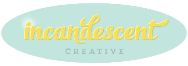 incandescent creative first logo