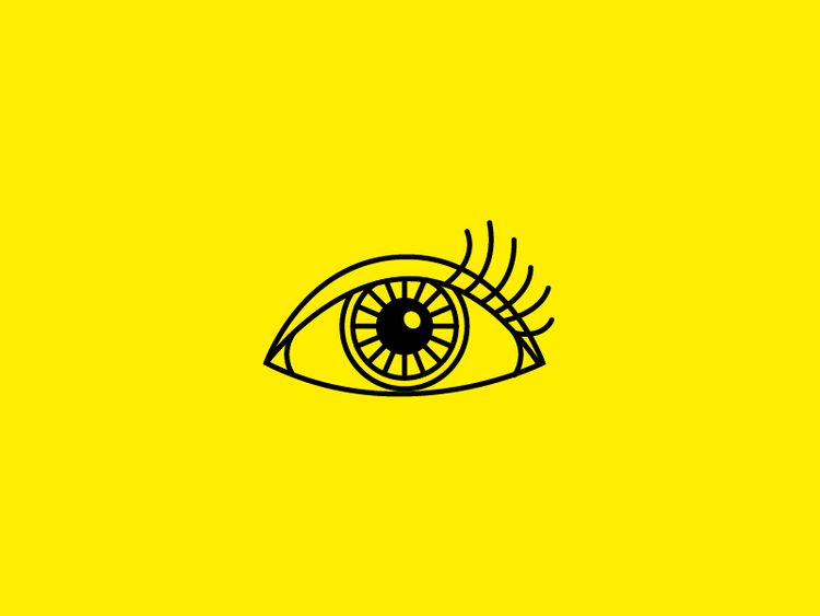 Eye icon design by Incandescent Creative | graphic design
