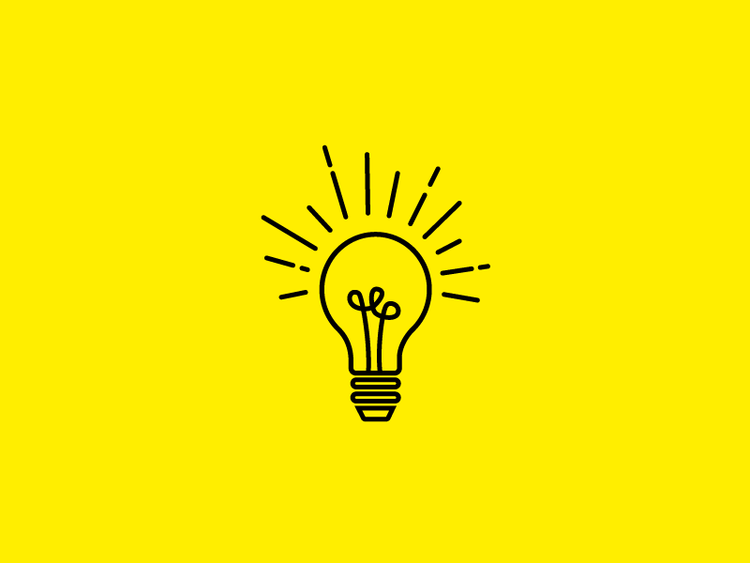 Light bulb icon design by Incandescent Creative | graphic design