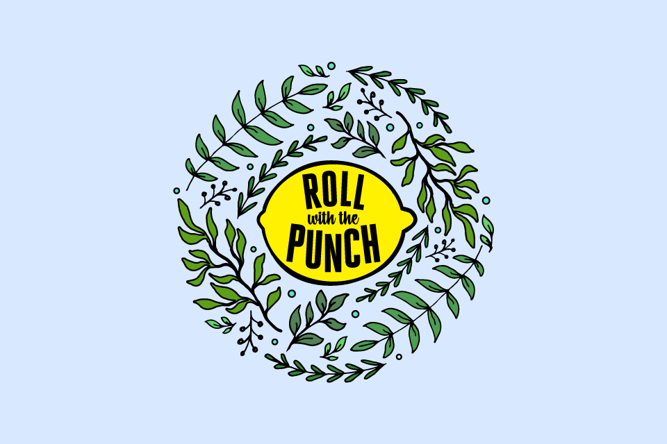Logo variation for Roll With The Punch by Incandescent Creative