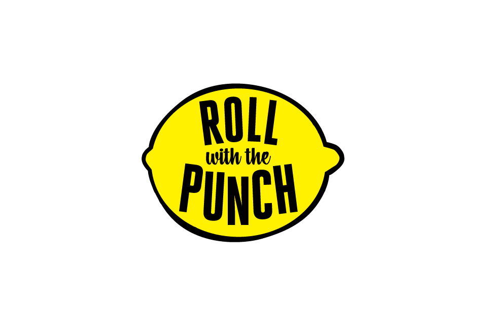Logo for Roll With The Punch by Incandescent Creative  – @incndscntcr8tiv