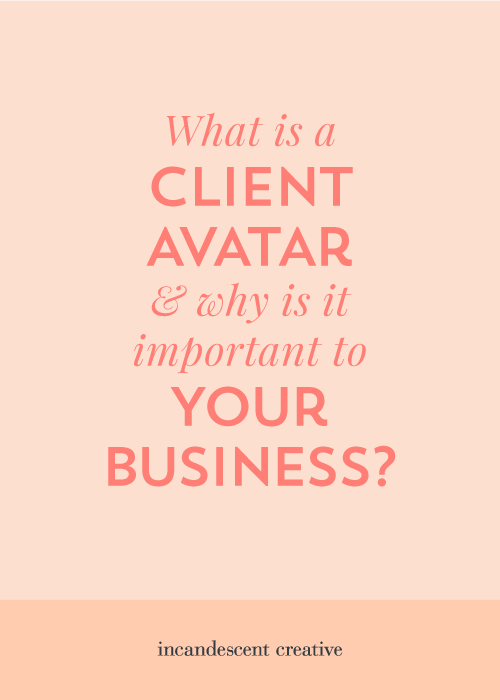What is a client avatar & why is it important to your business? — via @incndscntcr8tiv