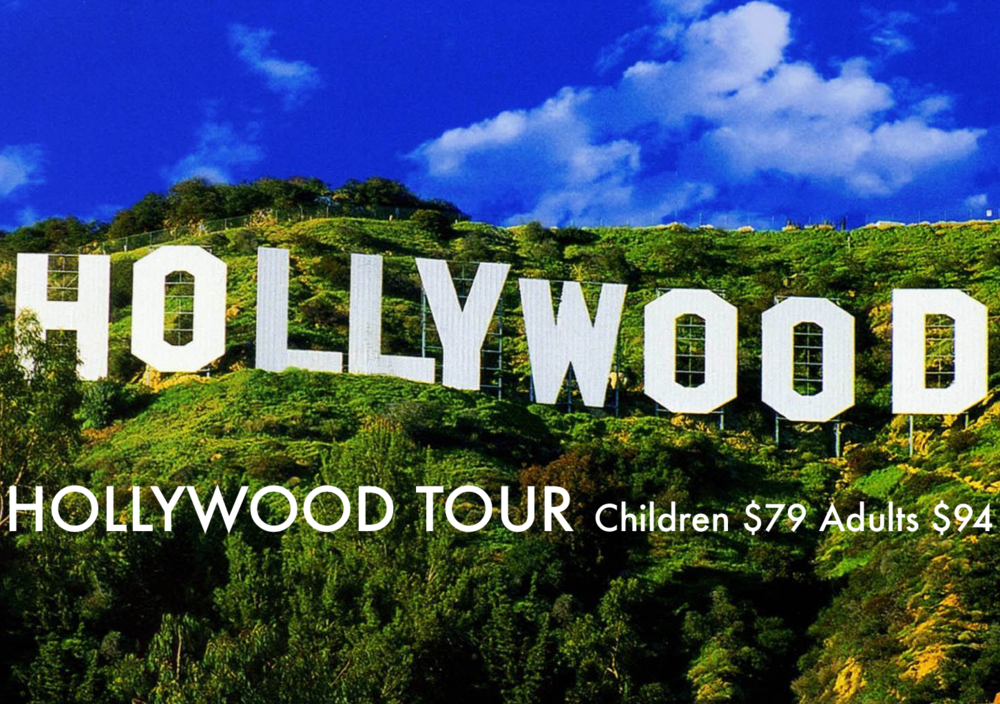 Our tour focuses on  Hollywood's legendary stars, past and present as well as notable landmarks, locations and homes in and around Los Angeles. Stars from all sectors of the entertainment world will be featured with a montage of film clips, theme songs, locations, photographs, stories, history, sound effects and more!