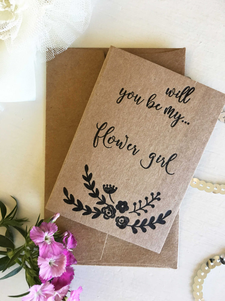 flower girl invitation will you be my flower girl flower girl