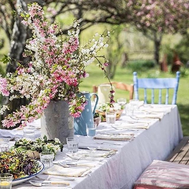 Looks like a beautiful bridal shower idea! Compliments to @thefarmgate ・・・ Country Lunch ~ A divine setting with all the necessary trimmings🌿#farmgateandtwine . . . . 📷 via @passie_voor_wonen sourced #pinterest #tablescape #lunch #countrytable #decor #outdoors #entertaining #springtime #blue #pink #white #treasure #bespoke #style #hostess #freshproduce #instagood #countrystyle #countrystyleloves #countrycharm #beautiful #longlunch