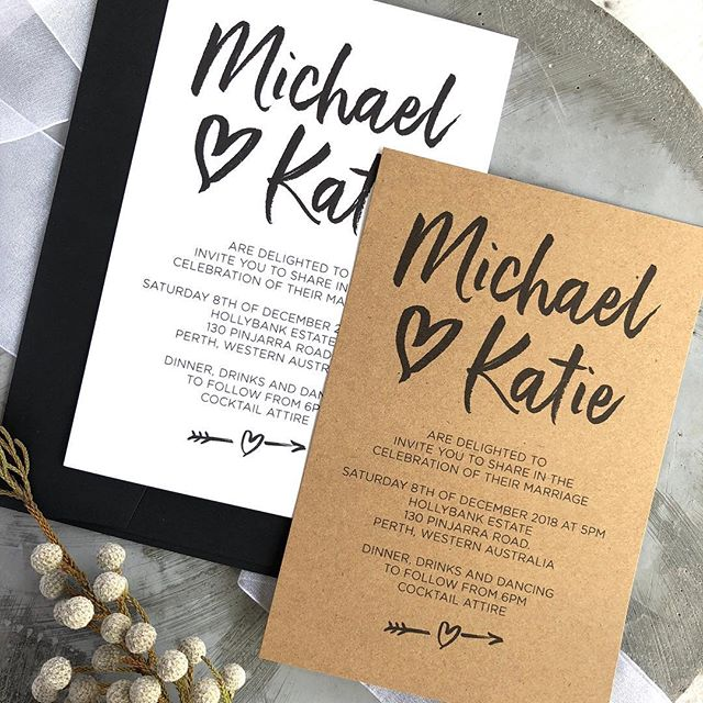 Rustic wedding invitation inspiration!  #weddinginvitations #rusticinvitation #rusticwedding #weddinginvites