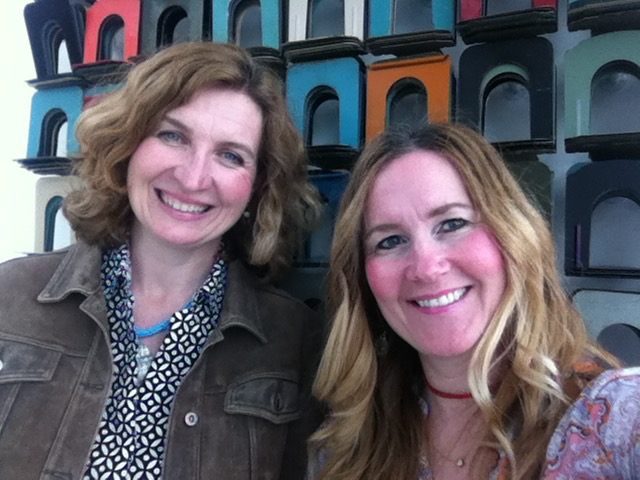THE JILLS OF ALL TRADES™ cofounders, Corinne & Megan at the Madison, WI Downtown Library