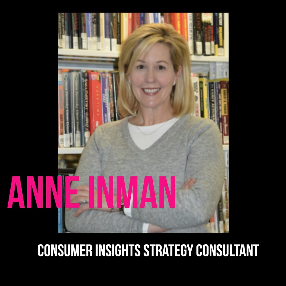 THE JILLS OF ALL TRADES™ Anne Inman Consumer Insights Strategy Consultant