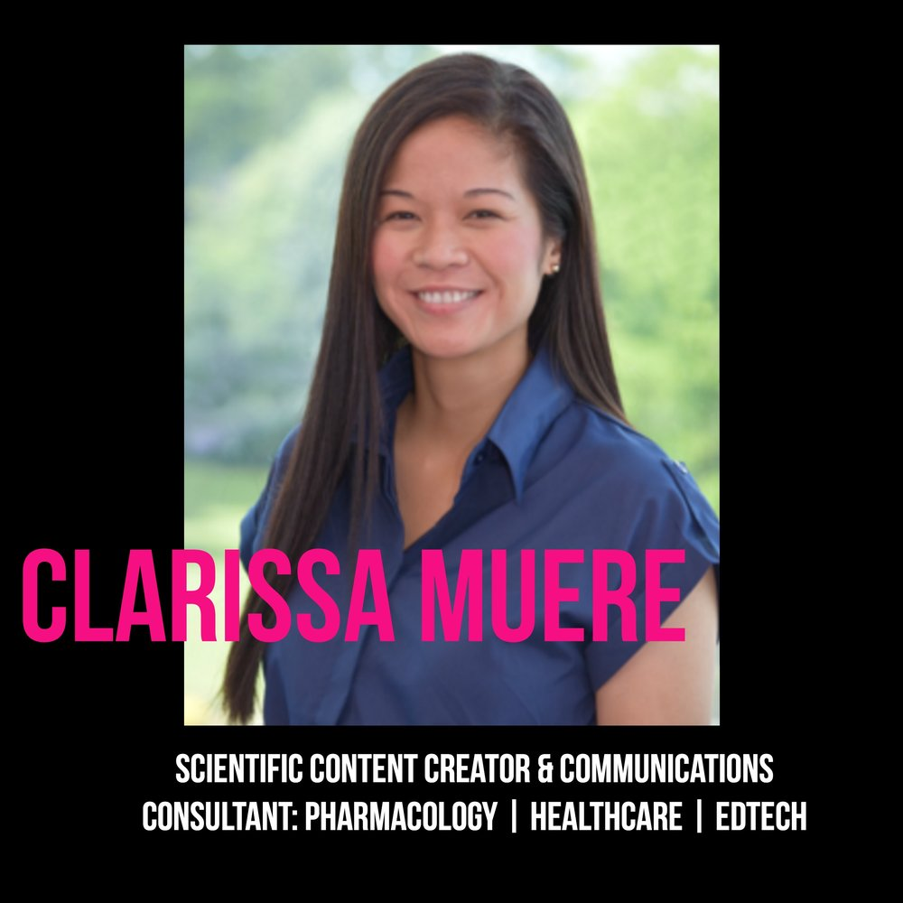 THE JILLS OF ALL TRADES™ Clarissa Muere Scientific Content Creation and Communications