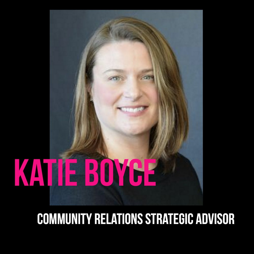 THE JILLS OF ALL TRADES™ Katie Boyce Community Relations Strategic Advisor